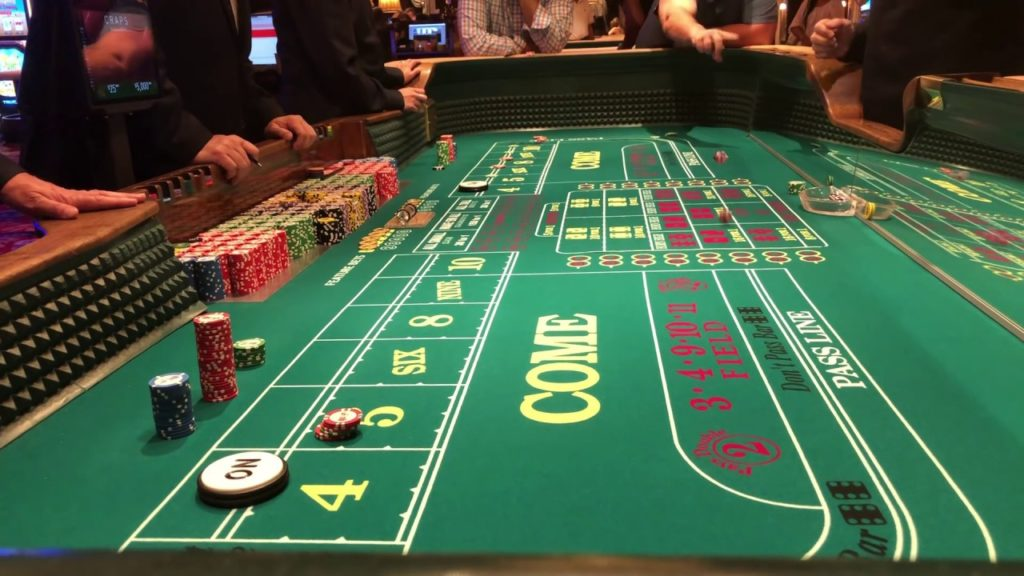 Casino betting games